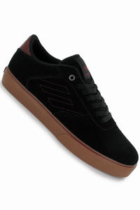 Emerica Liverpool Suede Shoe (black red white)