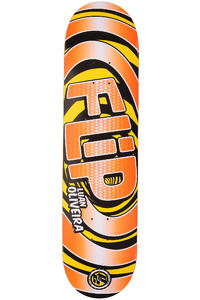 "Flip Oliveira Swirls P2 7.875"" Deck (orange)"