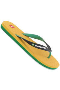 Quiksilver Compound Slaps (yellow green black)