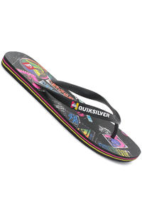 Quiksilver Molokai Screenline Slaps (black black multi)