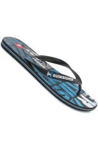 Quiksilver Molokai Dipped Slaps (white black blue)