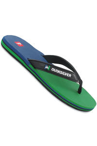 Quiksilver Eclipsed Slaps (black green blue)