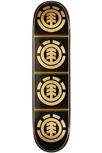 "Element Team Rasta Quadrant 7.875"" Deck"