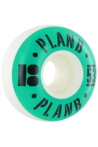 Plan B Newport 53mm Rollen 4er Pack  (turquoise)