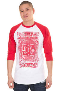 DC Serg Premium 3/4 Longsleeve (athletic red)