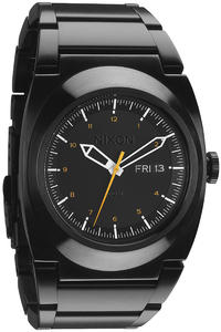 Nixon The Don Uhr (all black orange)