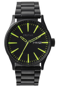 Nixon The Sentry SS Uhr (all black lum)