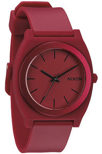 Nixon The Time Teller P Watch (dark red ano)