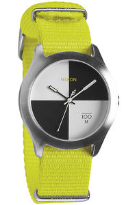 Nixon The Quad Uhr (neon yellow)