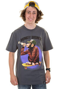 Osiris Monkey T-Shirt (charcoal)