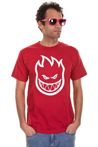 Spitfire Bighead T-Shirt (cardinal white)