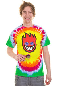 Spitfire All You Need Is Fire T-Shirt (tie dye)