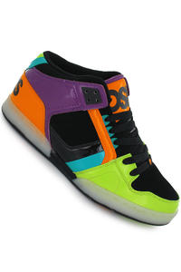 Osiris NYC'83 Mid Schuh (lime orange blue)