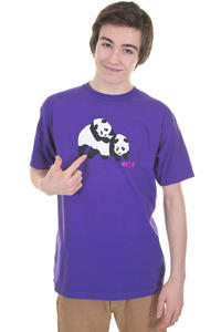 Enjoi Piggyback Pandas T-Shirt (purple)