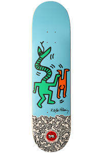 Alien Workshop Keith Haring - Rieder 8&quot; Deck (blue)