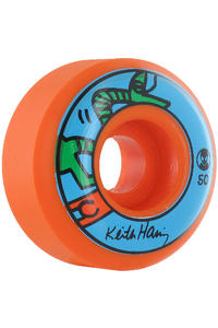 Alien Workshop X Haring 50mm Rollen 4er Pack  (orange)