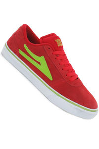 Lakai Manchester Suede Shoe (red lime)