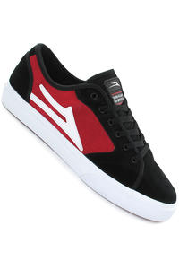 Lakai Vista Suede Shoe (black red)