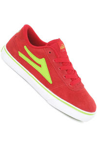Lakai Manchester Suede Schuh kids (red lime)