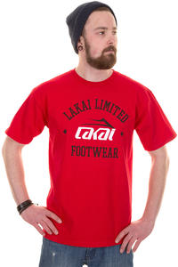 Lakai Squad T-Shirt (red)