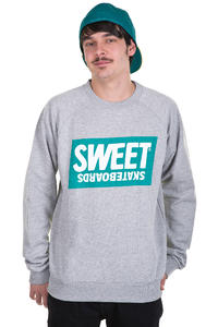 Sweet Basemark Sweatshirt (grey melange)