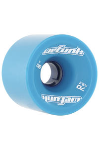 WeFunk 70mm 80A Rollen 4er Pack  (blue)