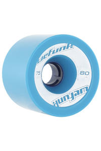 WeFunk 75mm 80A Rollen 4er Pack  (blue)