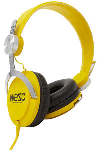 WeSC Bass Headphones (dandelion yellow)