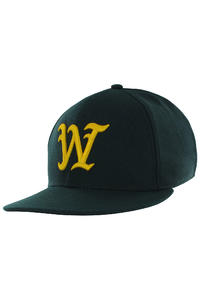 WeSC On Field W1 Snapback Cap (moss green)