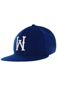 WeSC On Field W2 Snapback Cap (true blue)