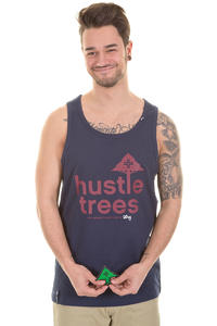 LRG CC Hustle Trees Tank-Top (navy)