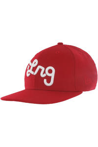 LRG CC Three Snapback Cap (red)