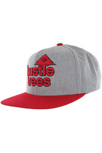 LRG CC Hustle Trees Snapback Cap (light grey)