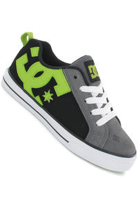 DC Court Graffik Vulc Schuh kids (grey lime green)