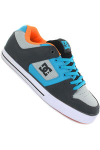 DC Pure Slim Schuh (grey vivid blue)
