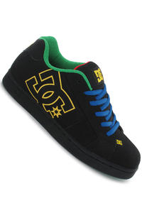 DC Net Shoe (black royal emerald)