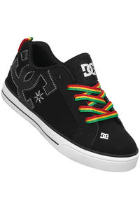 DC Court Graffik Vulc Shoe kids (black rasta)