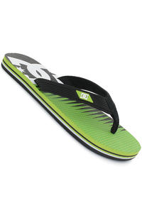 DC Snap Graffik Sandale (black soft lime print)