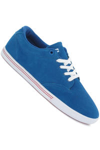 Globe Lighthouse Slim Suede Shoe (royal blue red)