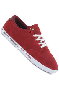 Globe Lighthouse Slim Suede Shoe (brick red white)