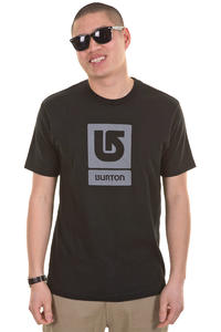 Burton Logo Vertical SP13 T-Shirt (true black)