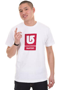 Burton Logo Vertical SP13 T-Shirt (stout white)