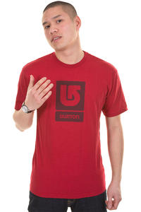 Burton Logo Vertical T-Shirt (red)