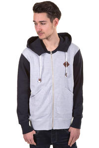 Burton Premium Decade Zip-Hoodie (heather eclipse)
