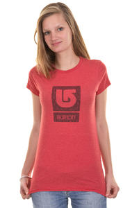 Burton Logo Fill SP13 T-Shirt girls (heather cardinal)