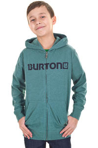 Burton Maxwell Zip-Hoodie kids (heather storm blue)
