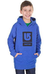 Burton Logo Vertical Hoodie kids (heather cobalt blue)