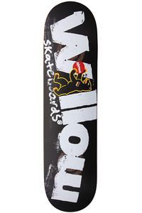 "Almost Willow Berlin Bear Double Impact 7.75"" Deck (black white)"