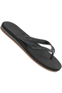 Quiksilver Carver 4 Slaps (black white brown)