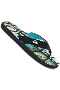 Quiksilver Quilted Cush Slaps (black blue black)